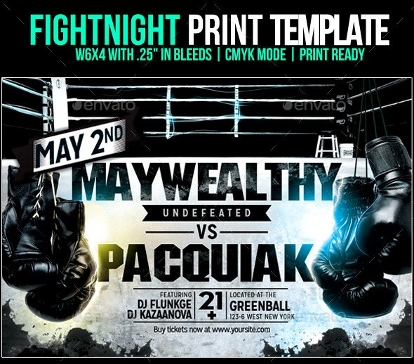 Fightnight Template - Sports Events