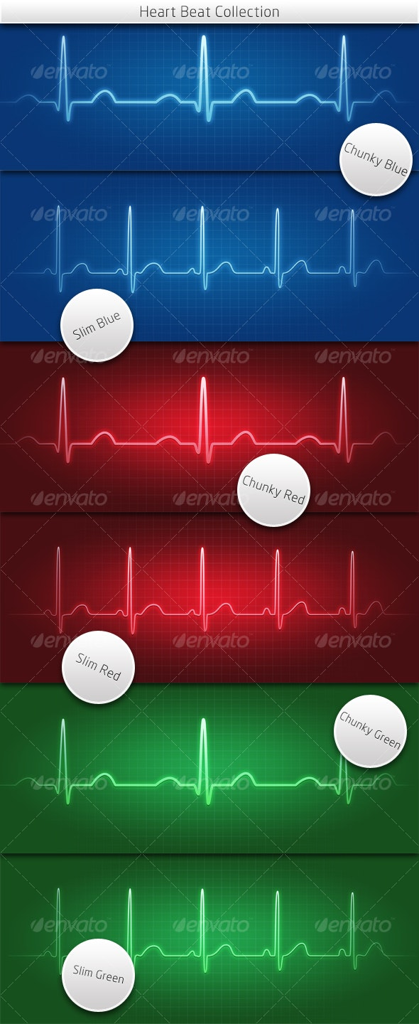 Heartbeat Collection - Miscellaneous Illustrations