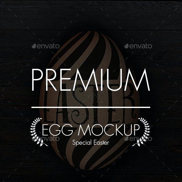 Egg Mockup - Easter Edition