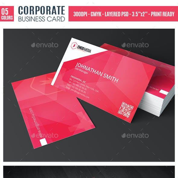 Creative Corporate Business Card EG20