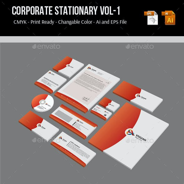 Corporate Stationary Vol-1