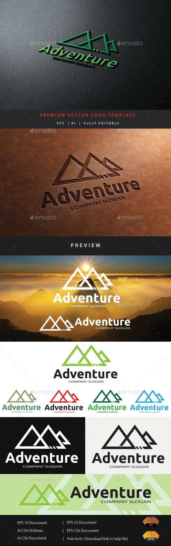 Adventure - Nature Logo Templates