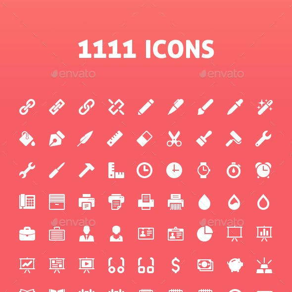 1111 Vector Icons
