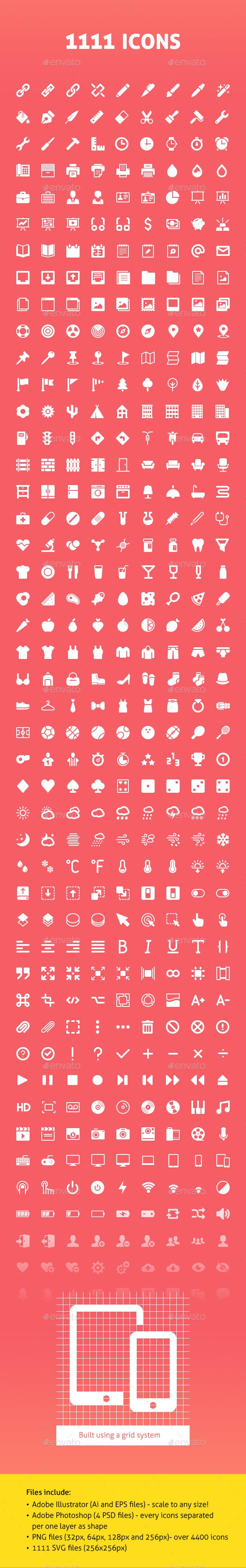 1111 Vector Icons - Web Icons