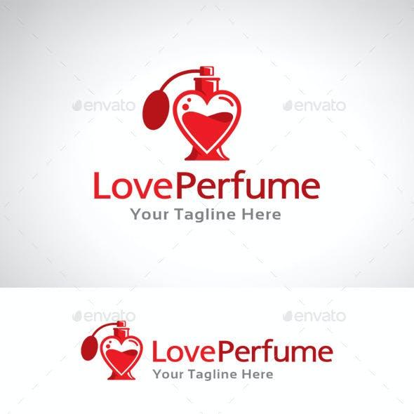 Love Perfume Logo Template
