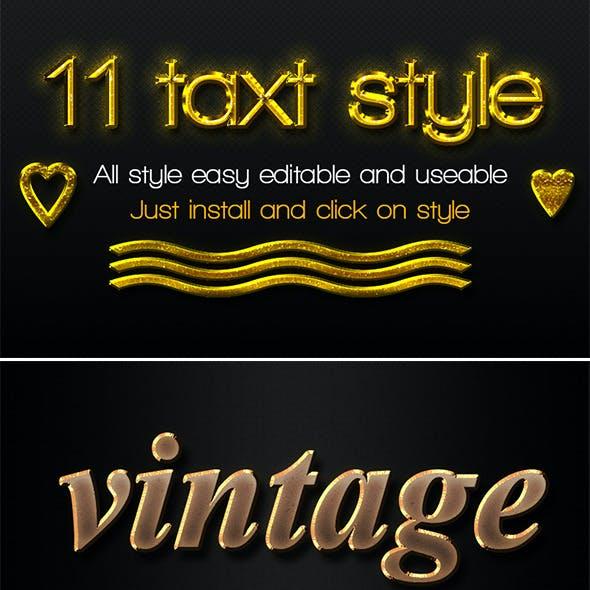 11 Text Styles
