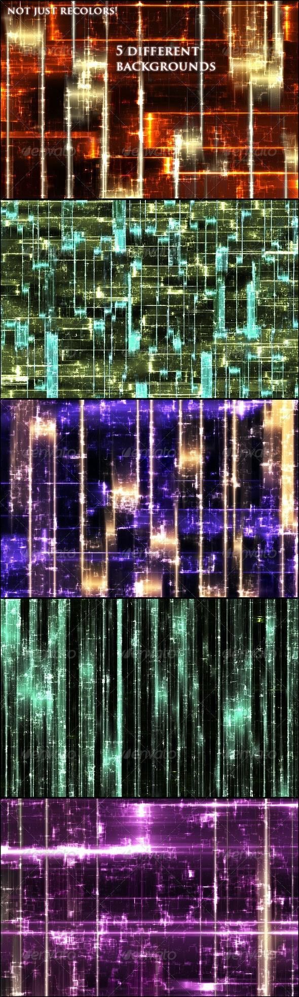 Tech Circus Backgrounds - Tech / Futuristic Backgrounds