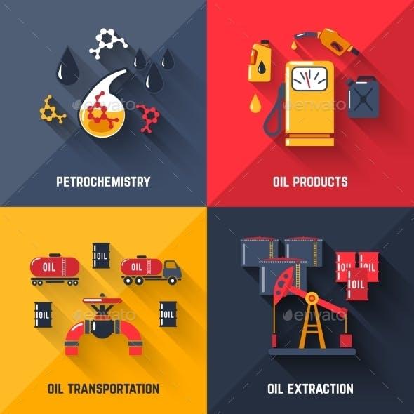 Petroleum Design Concept Set