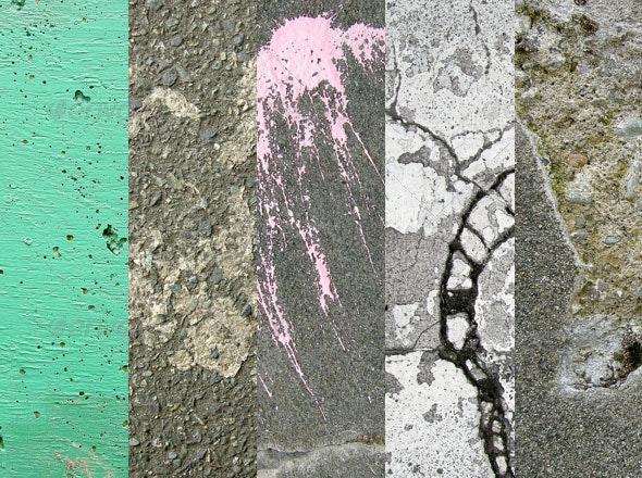 Concrete Texture Pack 1 - Concrete Textures