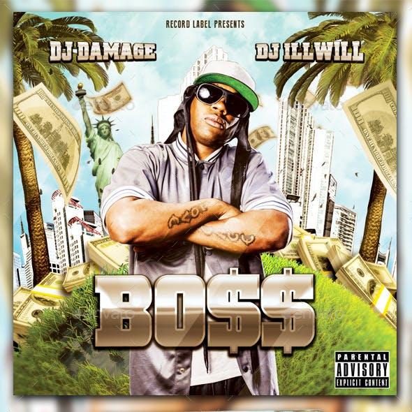 Boss Mixtape Template / Flyer or Album Cover