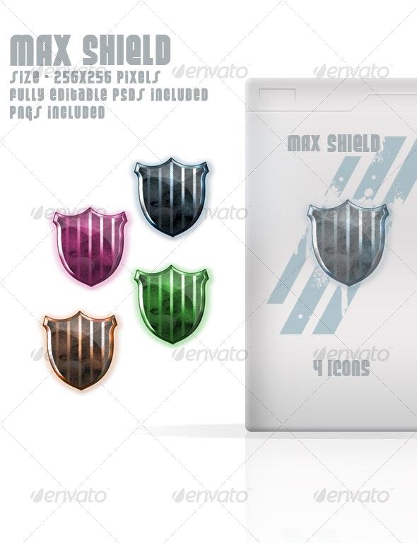 MAX SHIELD - Web Icons