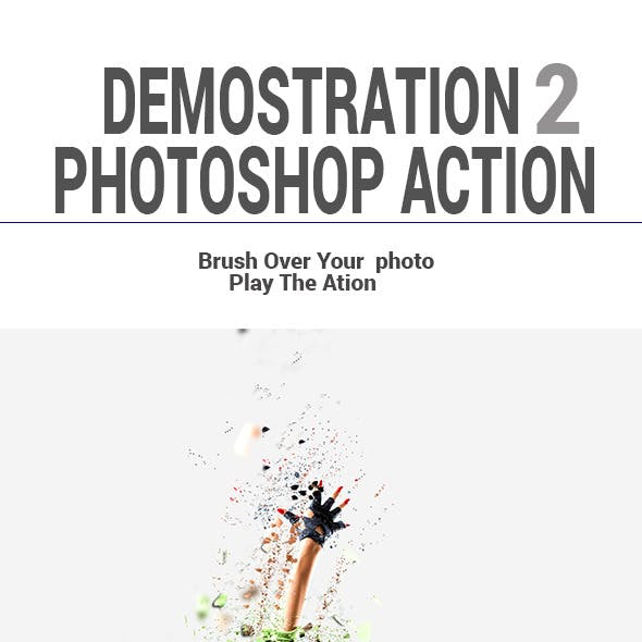 Demostration2 Photoshop Action