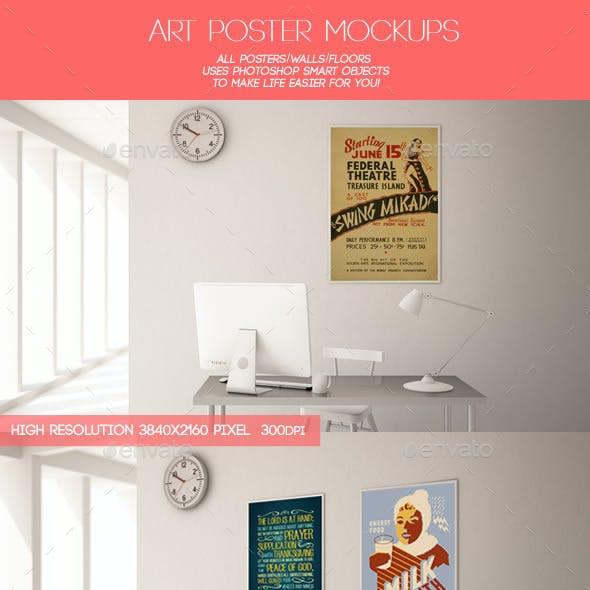 Art Poster Mockups
