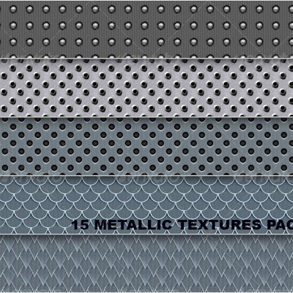 15 Metallic Pattern Pack