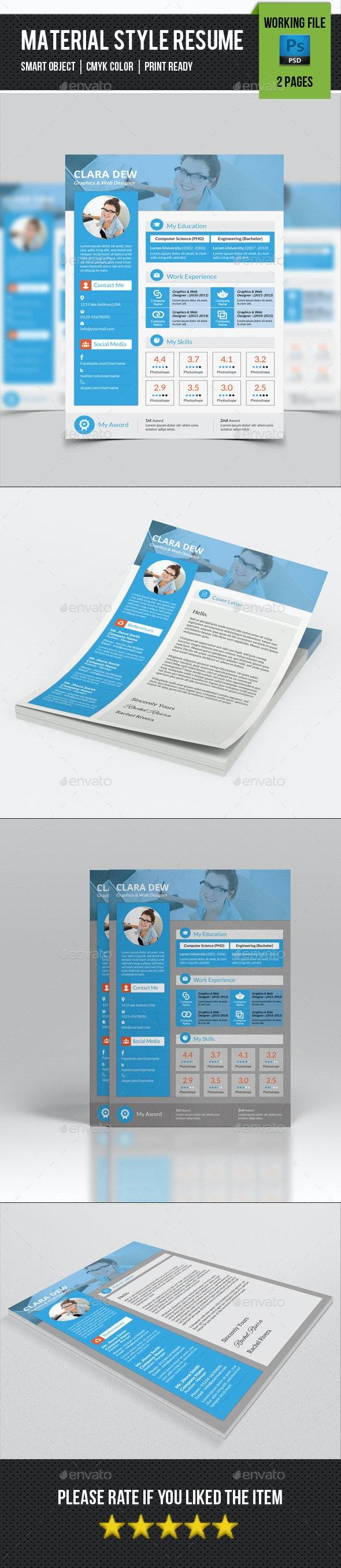 Creative Resume Template-V16 - Resumes Stationery