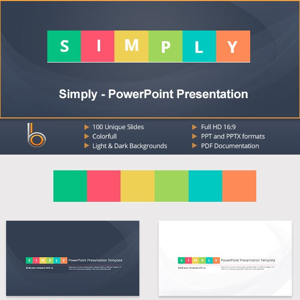 Simply - PowerPoint Presentation Template