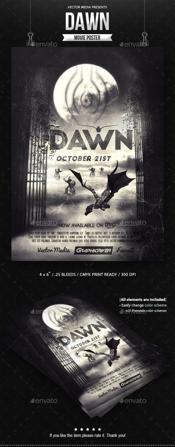 Dawn - Movie Poster - Miscellaneous Events