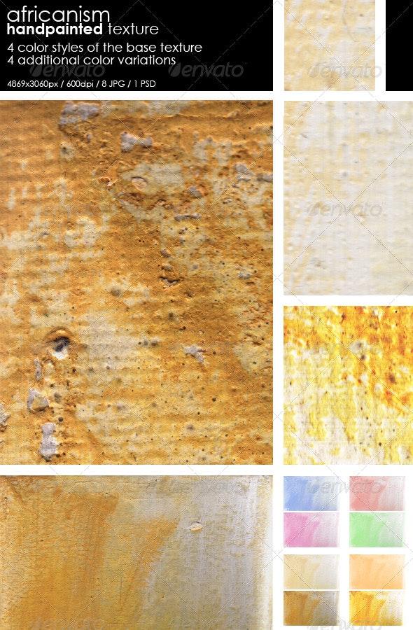 Africanism - Handpainted texture - Art Textures