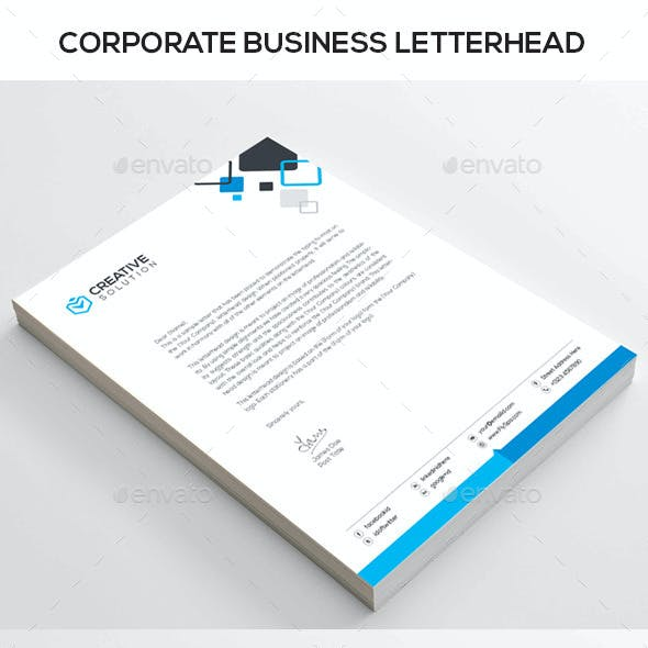 CREATIVE SOLUTION Corporate Letterhead
