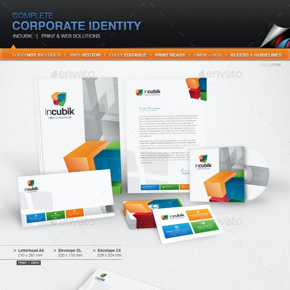 Corporate Identity - Incubik