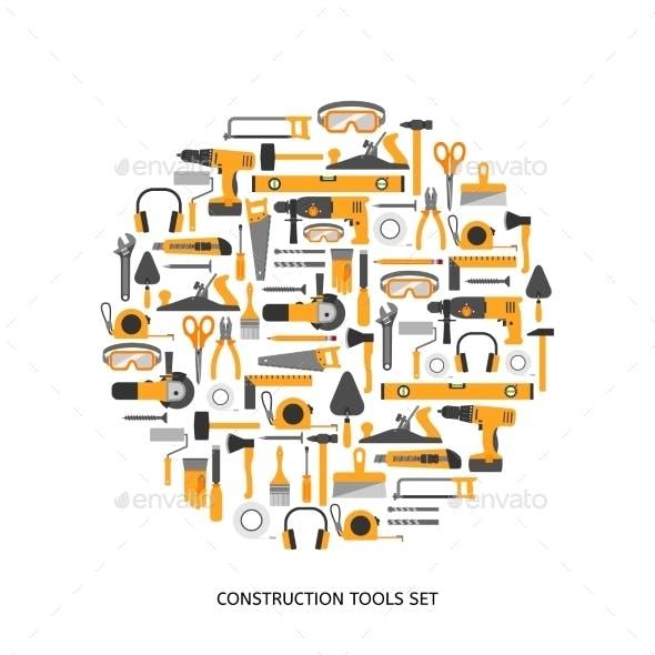Construction Tools Set