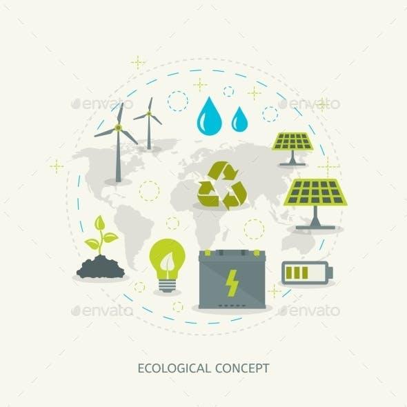 Ecologic Renewable Energy Concept