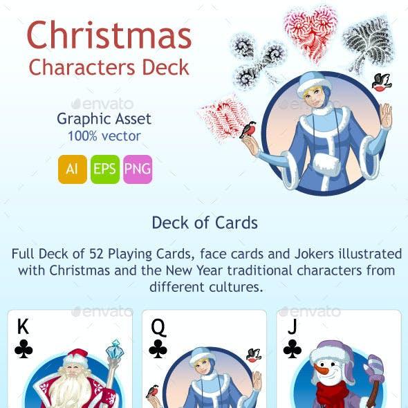 Christmas Characters Deck