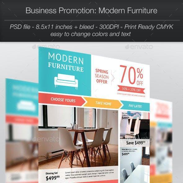 Business Promotion: Modern Furniture