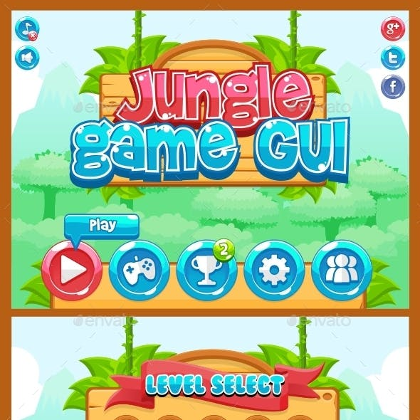 Jungle Game GUI