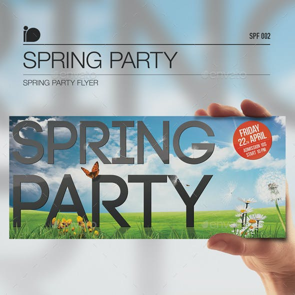 Spring Party Flyer • Spring Party
