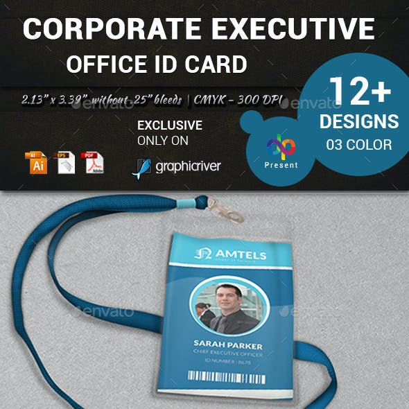 Corporate Executive Office ID card