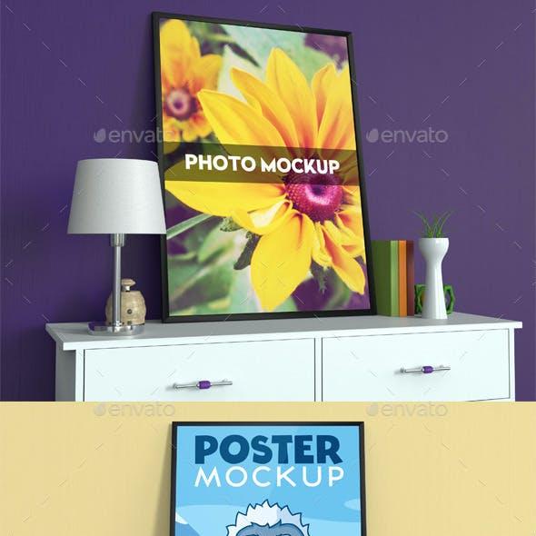 Poster and Photo Mockup