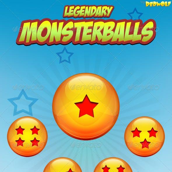 Monsterballs Icons