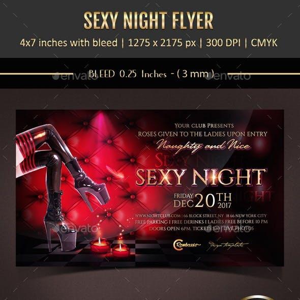 Sexy Night Flyer