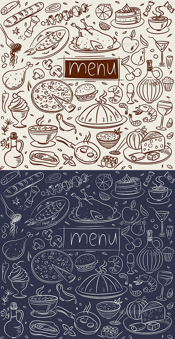 Food Sketch  - Food Objects