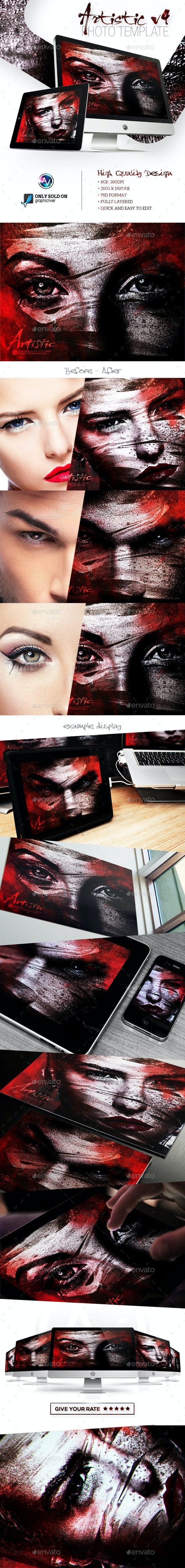 Artistic Photo Template V4 - Artistic Photo Templates