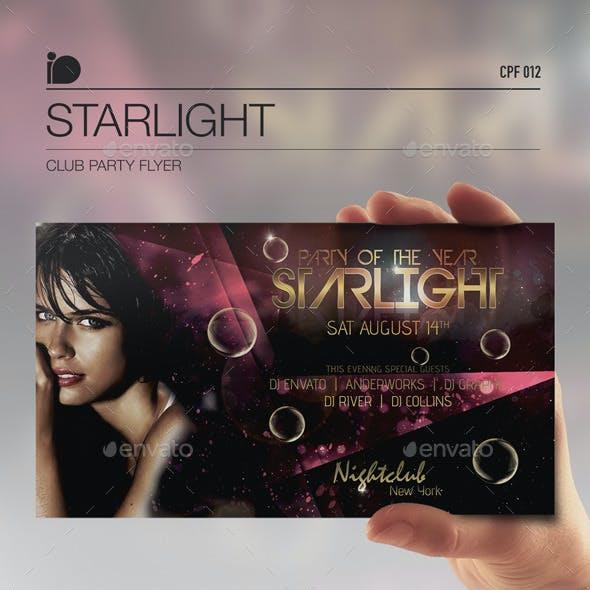 Club Party Flyer • Starlight