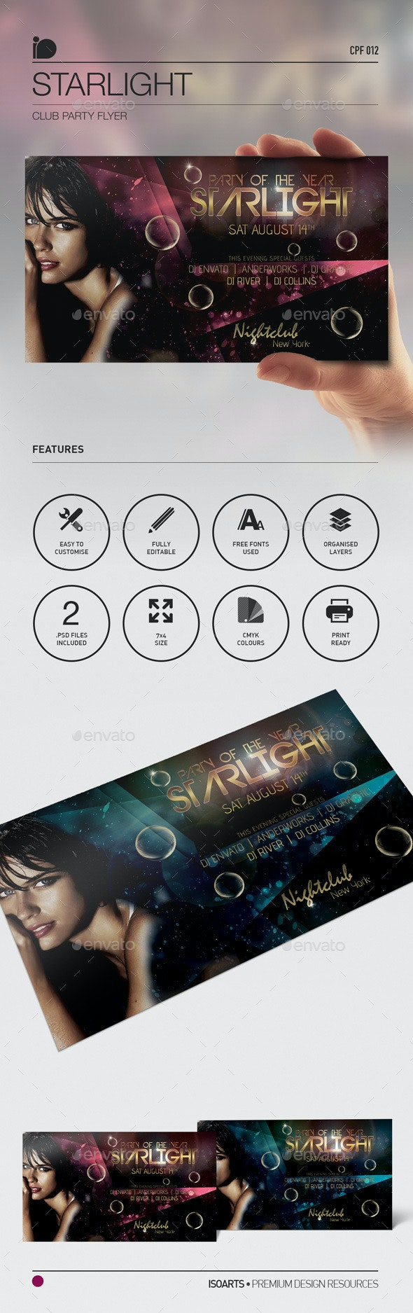 Club Party Flyer • Starlight - Clubs & Parties Events