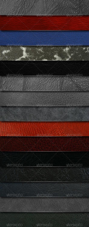 Mega pack - 15 leather textures - Miscellaneous Textures