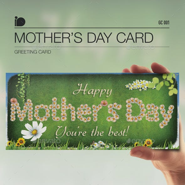 Greeting Card • Mother's Day Card