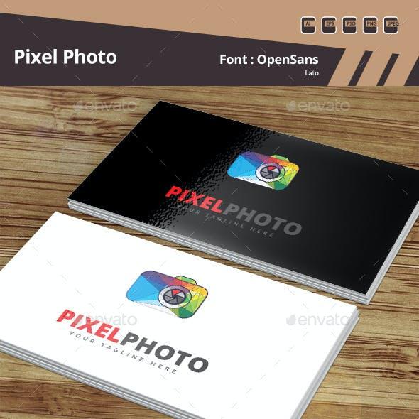 Pixel Photo Logo Template