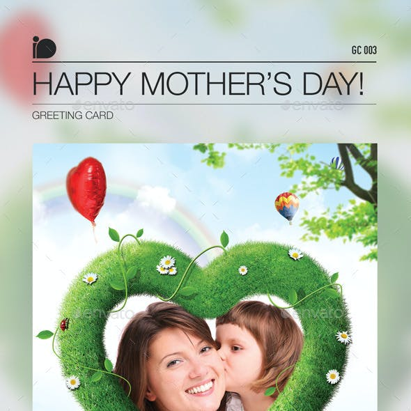 Greeting Card • Happy Mother's Day