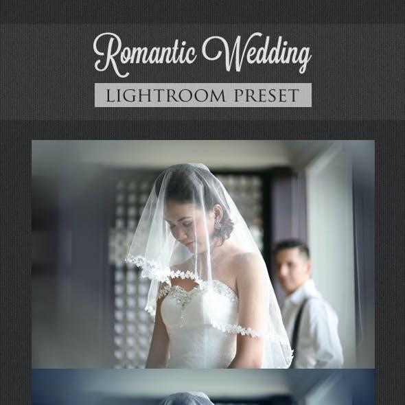 Romantic Wedding Lightroom Preset