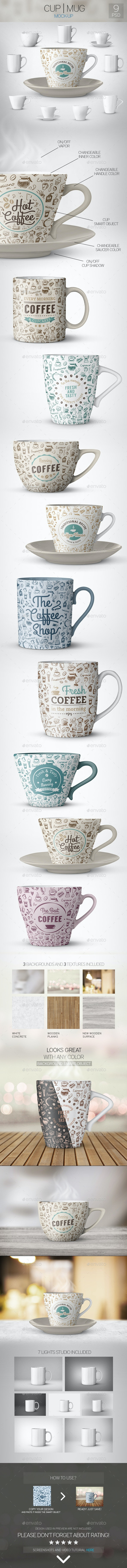 Cup | Mug Mock-Up - Food and Drink Packaging