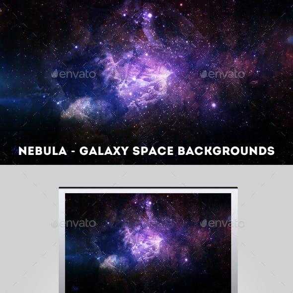 Nebula - Galaxy Space Backgrounds