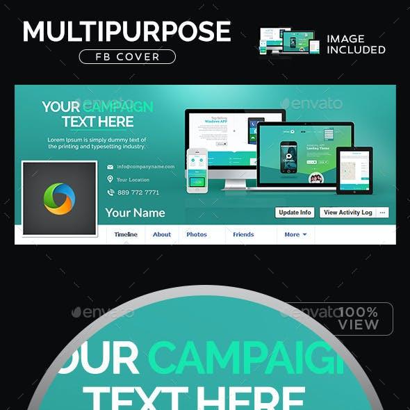 Multipurpose Facebook Cover