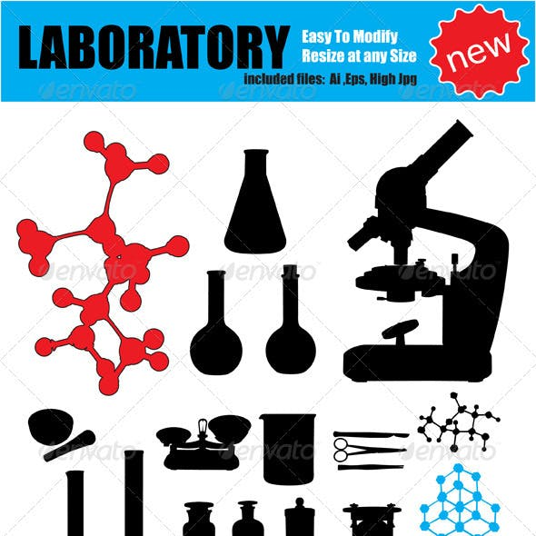 Vector Laboratory Silhouette Set