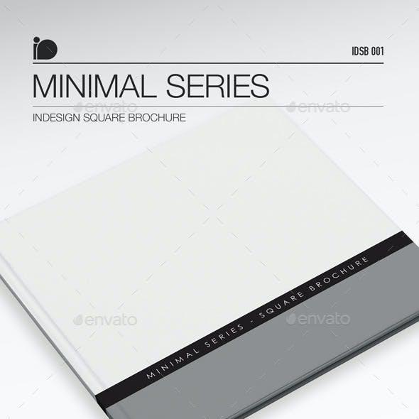 Square Brochure • Minimal Series