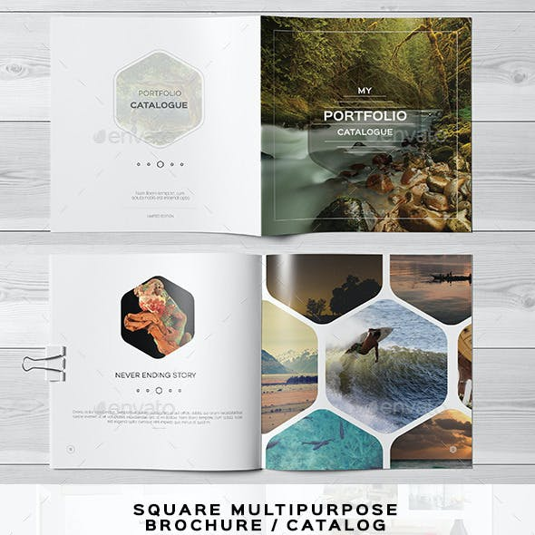 Multipurpose Square Brochure 2