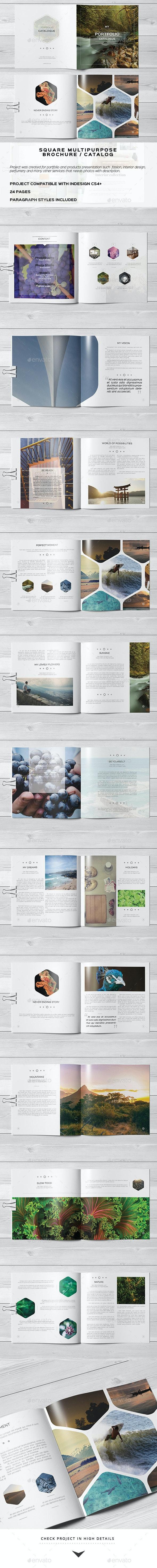 Multipurpose Square Brochure 2 - Catalogs Brochures